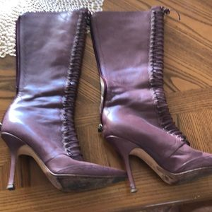 Pair of jimmy choo boots size 39 great condition